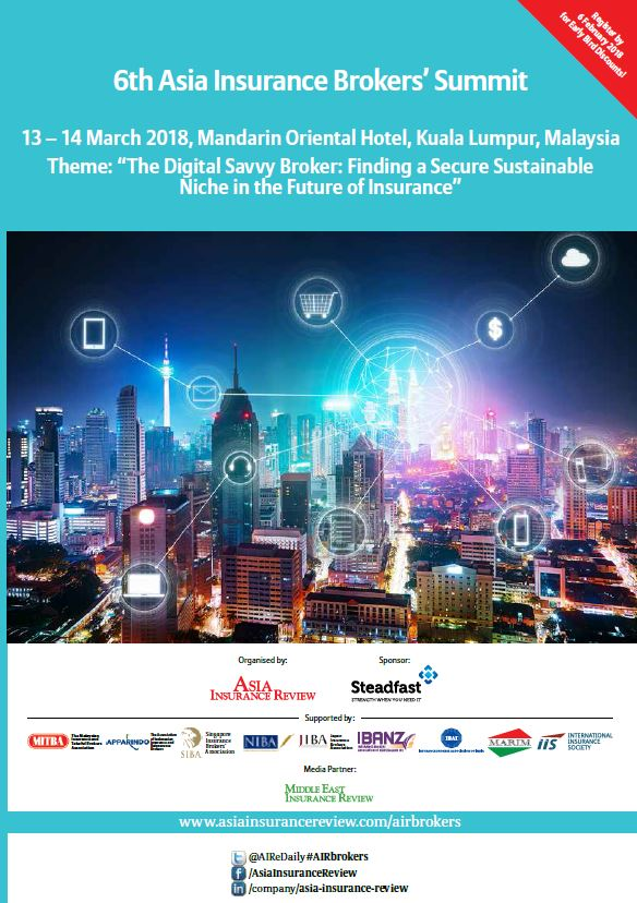 6th Asia Insurance Brokers' Summit Brochure
