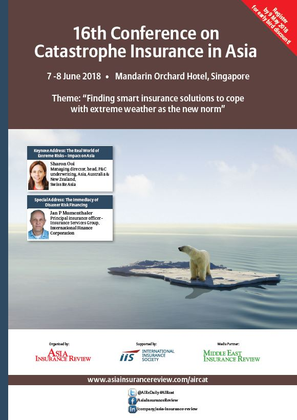 16th Conference on Catastrophe Insurance in Asia Brochure