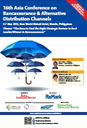 16th Asia Conference on Bancassurance and Alternative Distribution Channels Brochure