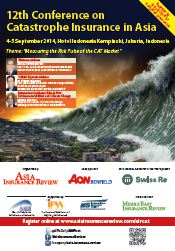 12th Conference on Catastrophe Insurance in Asia Brochure