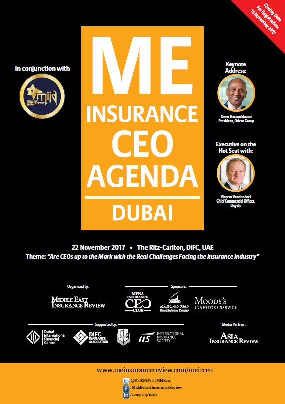 Middle East Insurance CEO Agenda Brochure