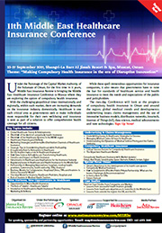 11th Middle East Healthcare Insurance Conference Brochure